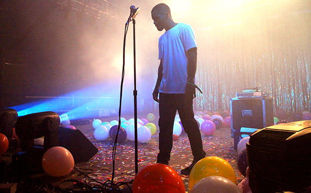 Frank Ocean played at the 2014 Bonnaroo Music & Arts Festival.