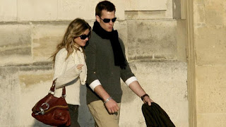 Tom Brady and Gisele Bundchen in Paris