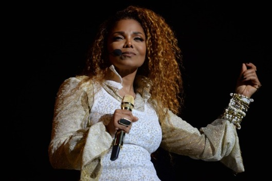 Janet Jackson on the opening night of her Unbreakable Tour at Rogers Arena in Vancouver